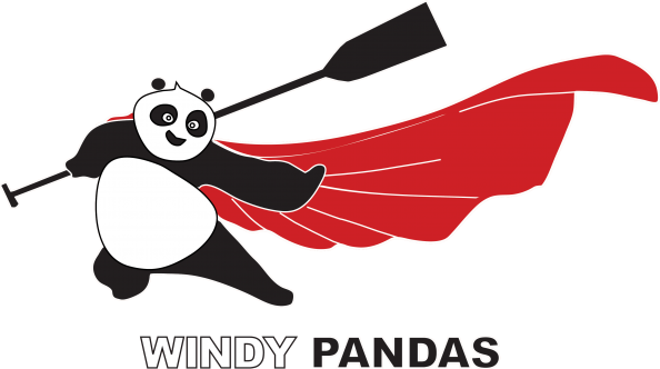 train with windy pandas
