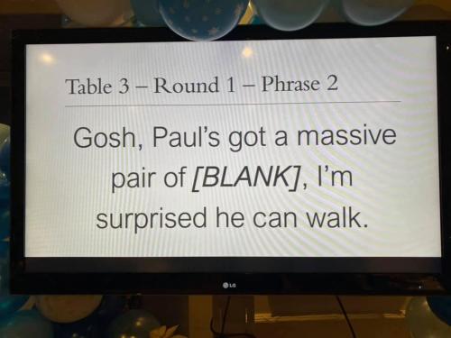 Paul's got a massive
