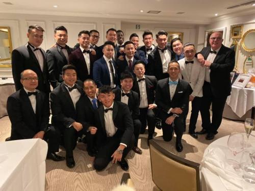Group awards night shot